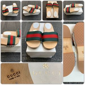 SOLD! Authentic Gucci Kids Sandal Size 30/US 12.5,